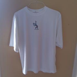 Life is Good Tennis Polyester Shirt XL